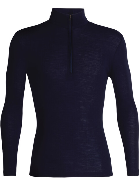 Icebreaker M's 175 Everyday LS Half Zip Shirt Midnight Navy
